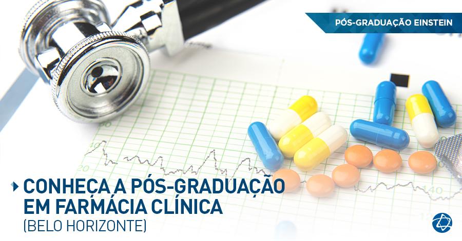 Pós- Graduação em farmácia clínica